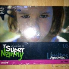 Libros de segunda mano: SUPER NANNY. AGRESIVIDAD. Nº6. LIBRO CON DVD. EL PAÍS. AÑO 2007 SIN ABRIR. Lote 40073061