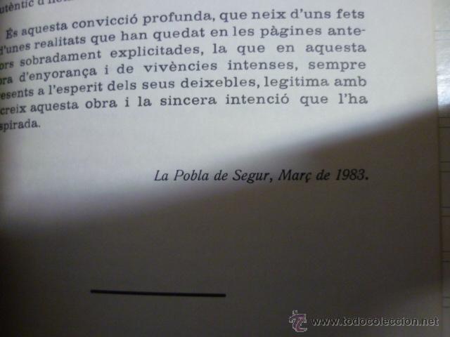 Libros de segunda mano: JESUS FORGA PEDAGOG I EDUCADOR 1901-1976. POBLA DE SEGUR EDUCACIO - Foto 4 - 40711223