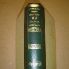 Libros de segunda mano: PRINCIPIOS DE LA EDUCACIÓN CONTEMPORÁNEA - RICARDO MARIN IBAÑEZ . Lote 40870556