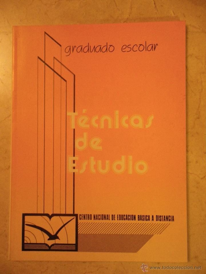 TÉCNICAS DE ESTUDIO (CENEBAD, 1985) (Libros de Segunda Mano - Ciencias, Manuales y Oficios - Pedagogía)