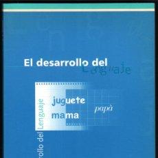 Libros de segunda mano: EL DESARROLLO DEL LENGUAJE - J.A.RONDAL *. Lote 42469633