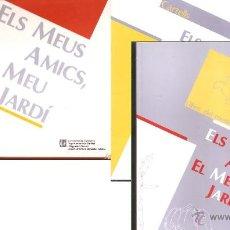 Libros de segunda mano: ELS MEUS AMICS, EL MEU JARDÍ - CARPETA,AMB LLIBRES, POSTERS I 168 DIAPOSITIVES. Lote 43335623