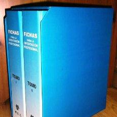 Libros de segunda mano: FICHAS PARA LA ORIENTACIÓN PROFESIONAL POR JOSÉ Mª GÓMEZ PÉREZ DEL MEC EN MADRID 1995. Lote 43404548