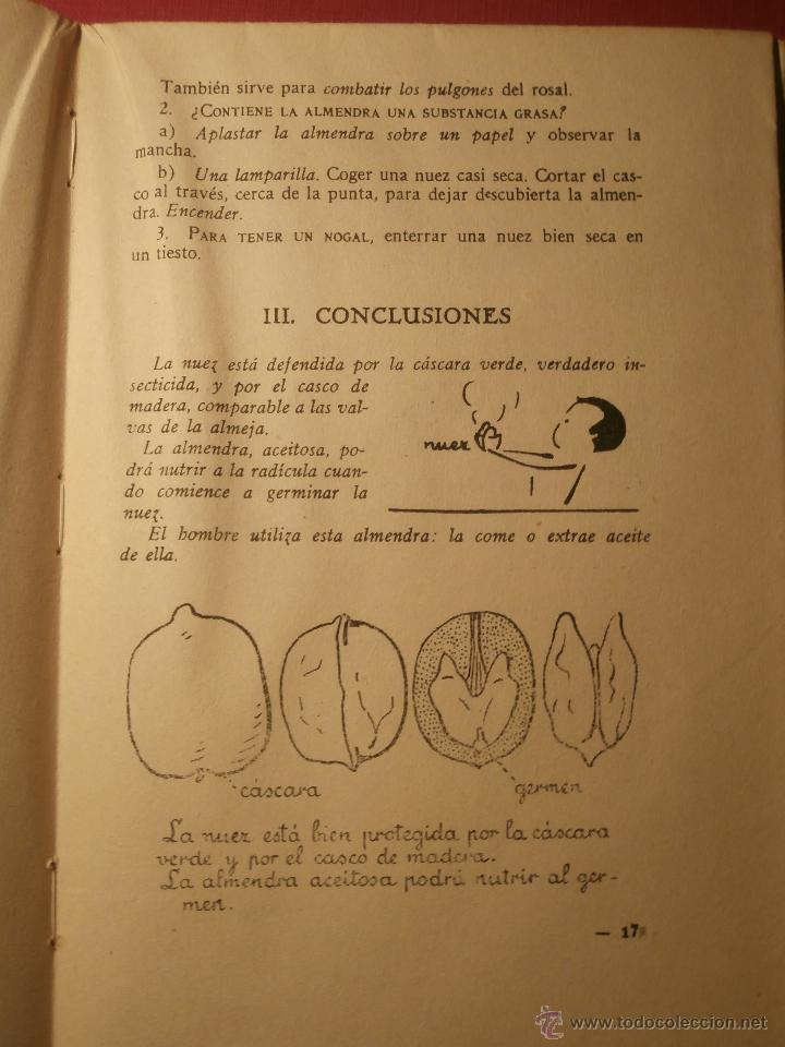 Libros de segunda mano: Excepcional - Un curso de lecciones de cosas - 1944 - Nuevo a estrenar - Libro de experimentos - Foto 4 - 43521434