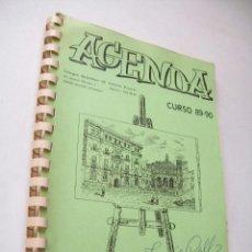 Libros de segunda mano: AGENDA CURSO 89-90- COLEGIO SALESIANOS S, VICENTE FERRER-ALCOY-(ALICANTE). Lote 43703322