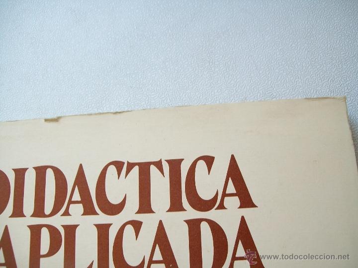 Libros de segunda mano: DIDÁCTICA APLICADA A LA EGB-TEMAS FUNDAMENTALES-EDT: ESCUELA ESPAÑOLA-1979 - Foto 2 - 43917127