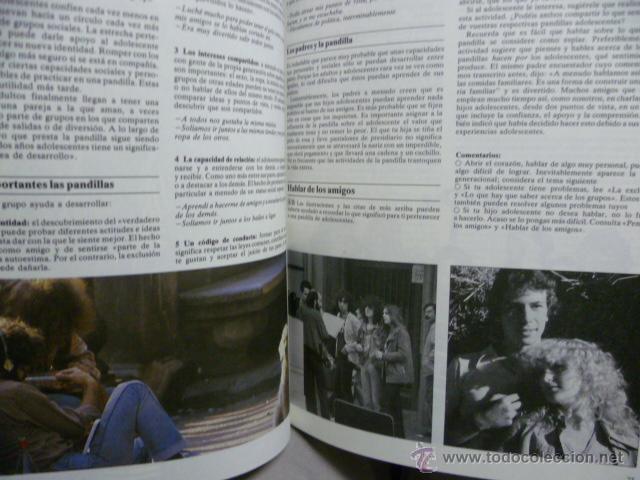 Libros de segunda mano: ADOLESCENTES - PARENTS & TEENAGERS. Prólogo de ENRIC PUIG - Foto 5 - 44148250