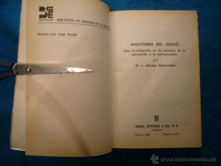 abercrombie: - anatomia del juicio (investigaci - Comprar Libros de ...
