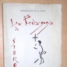 Libros de segunda mano: LA PEDAGOGÍA DE SIUROT, HERMENEGILDO DE LA CORTE 1ª EDICIÓN 1966. Lote 47107537