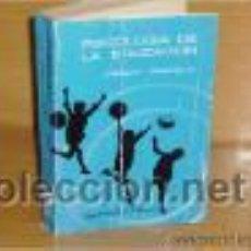 Libros de segunda mano - PSICOLOGIA DE LA EDUCACION . Joaquín Campillo. Editorial Magisterio Español. - 47458645