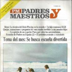 Libros de segunda mano: REVISTA PADRES Y MAESTROS. Nº124. AÑO 1965. Lote 47917712