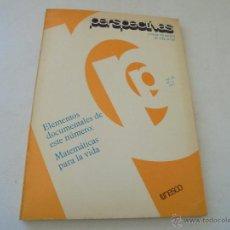 Libros de segunda mano: PERSPECTIVAS, REVISTA TRIMESTRAL DE EDUCACIÓN-V. IX Nº.3-UNESCO-1979-ELEMENTOS DOCUMENTALES DE -. Lote 48225946