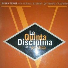 Libros de segunda mano: LA QUINTA DISCIPLINA EN LA PRACTICA SENGE PETER GRANICA 1995. Lote 48358042