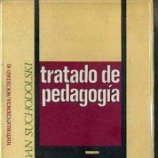 Libros de segunda mano: BOGDAN SUCHODOLSKI : TRATADO DE PEDAGOGÍA (PENÍNSULA, 1971) . Lote 48401300
