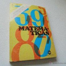 Libros de segunda mano: MATEMÁTICAS-OPOSICIÓNES AL CUERPO DE PROFESORES DE EGB-1974-EDT: ACADEMIA N. POLITÉCNICA. Lote 48527872