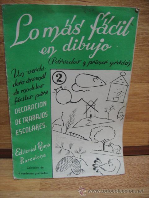 lo mas facil en dibujo - cuaderno de escuela pa - Comprar Libros de ...