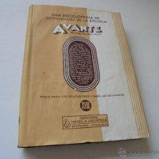 Libros de segunda mano: AVANTE, TEMAS PRÁCTICOS DE TRABAJO ESCOLAR-TOMO XVIII-EDT: MIGUEL A. SALVATELLA-S/F-TODO PARA LOS -. Lote 49242937