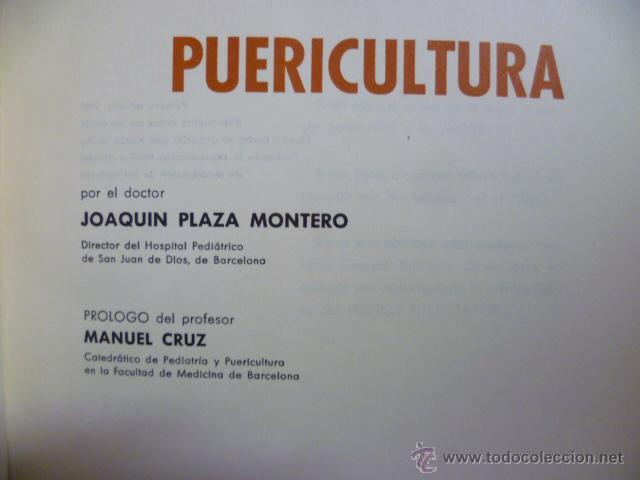 Libros de segunda mano: PUERICULTURA ( J. PLAZA MONTERO ) 1966 - Foto 2 - 49376741