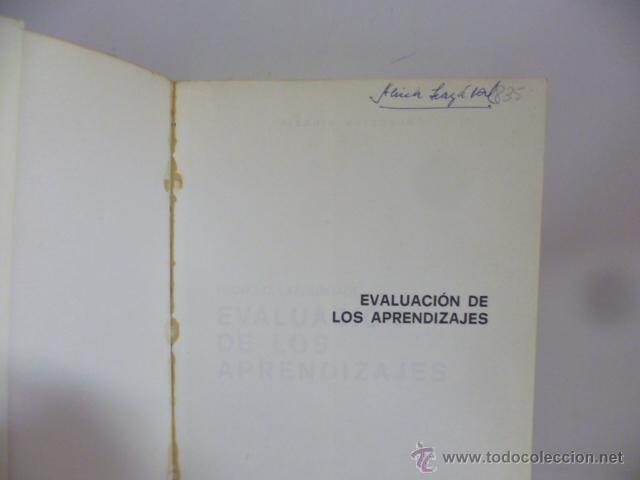 Libros de segunda mano: Pedro D. Lafourcade - Evaluación de los aprendizajes - Foto 2 - 49793543