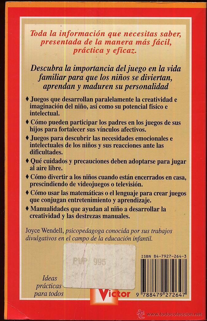 Libros de segunda mano: IDEAS Y TRUCOS PARA DIVERTIR A LOS NIÑOS - Joyce Wendell - Editorial VICTOR - Foto 2 - 50159711