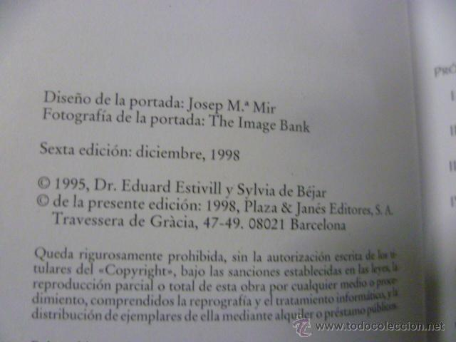 Libros de segunda mano: DUERMETE NIÑO DE EDUARD ESTIVILL Y SILVIA DE BÉJAR - Foto 2 - 50252860