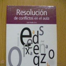 Libros de segunda mano: RESOLUCIÓN DE CONFLICTOS EN EL AULA. Lote 50570236