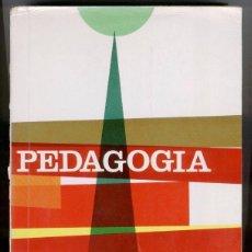 Libros de segunda mano: PEDAGOGIA - CONSUELO S. BUCHON - CARMEN VALDIVIA (25ª EDIC. 1968). Lote 50681711