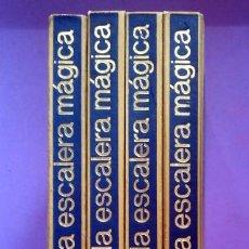 Libros de segunda mano: LA ESCALERA MÁGICA . ENCICLOPEDIA DE ACTIVIDADES MANUALES Y ARTÍSTICAS. Lote 51048670