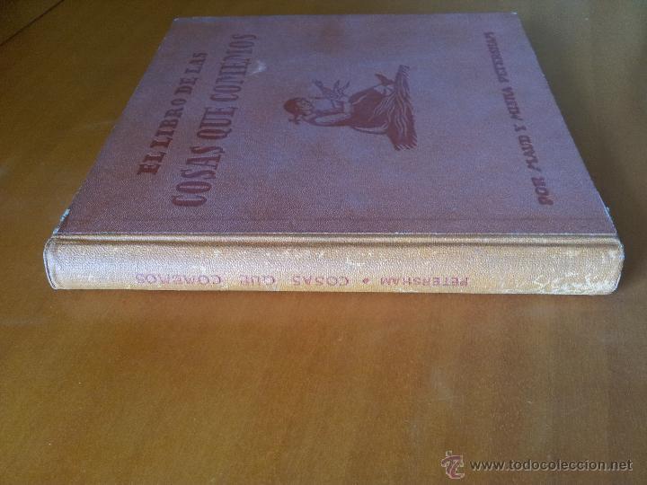 Libros de segunda mano: El Libro de las Cosas que Comemos. Maud y Miska Petersham - Foto 7 - 51789268
