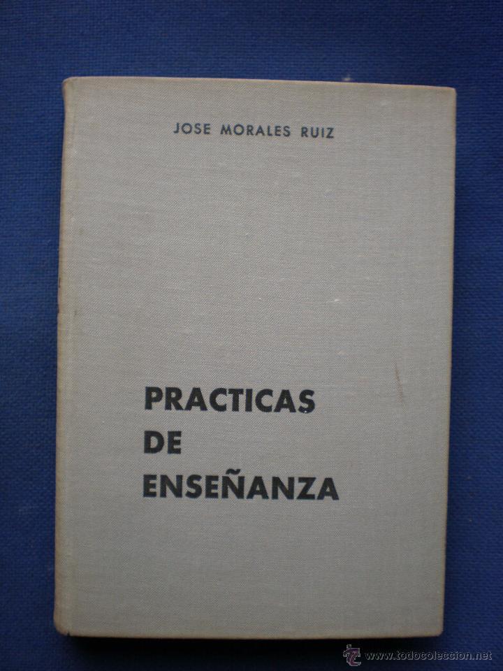 PRACTICAS DE ENSEÑANZA 1ª EDICION 1969 (Libros de Segunda Mano - Ciencias, Manuales y Oficios - Pedagogía)