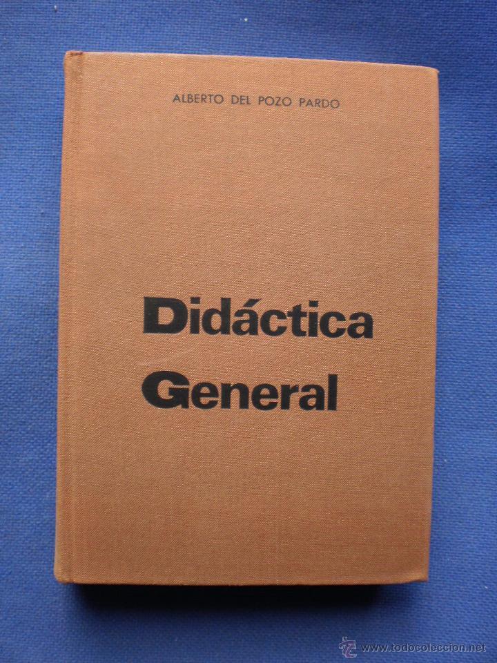 DIDACTICA GENERAL (Libros de Segunda Mano - Ciencias, Manuales y Oficios - Pedagogía)