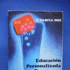 Libros de segunda mano: EDUCACION PERSONALIZADA. Lote 52985521