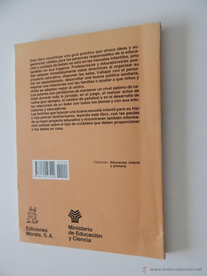 Libros de segunda mano: Orientaciones para la escuela infantil de cero a dos años - Anne Willis, Henry Ricciuti, 1990 - Foto 2 - 53009621