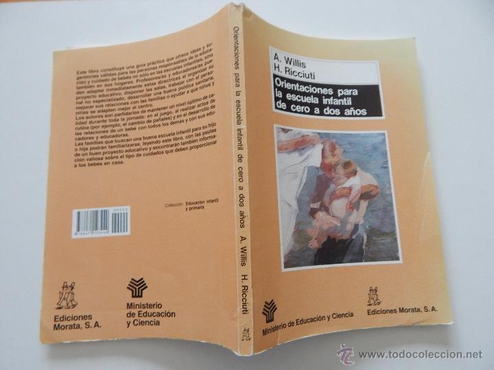 Libros de segunda mano: Orientaciones para la escuela infantil de cero a dos años - Anne Willis, Henry Ricciuti, 1990 - Foto 3 - 53009621