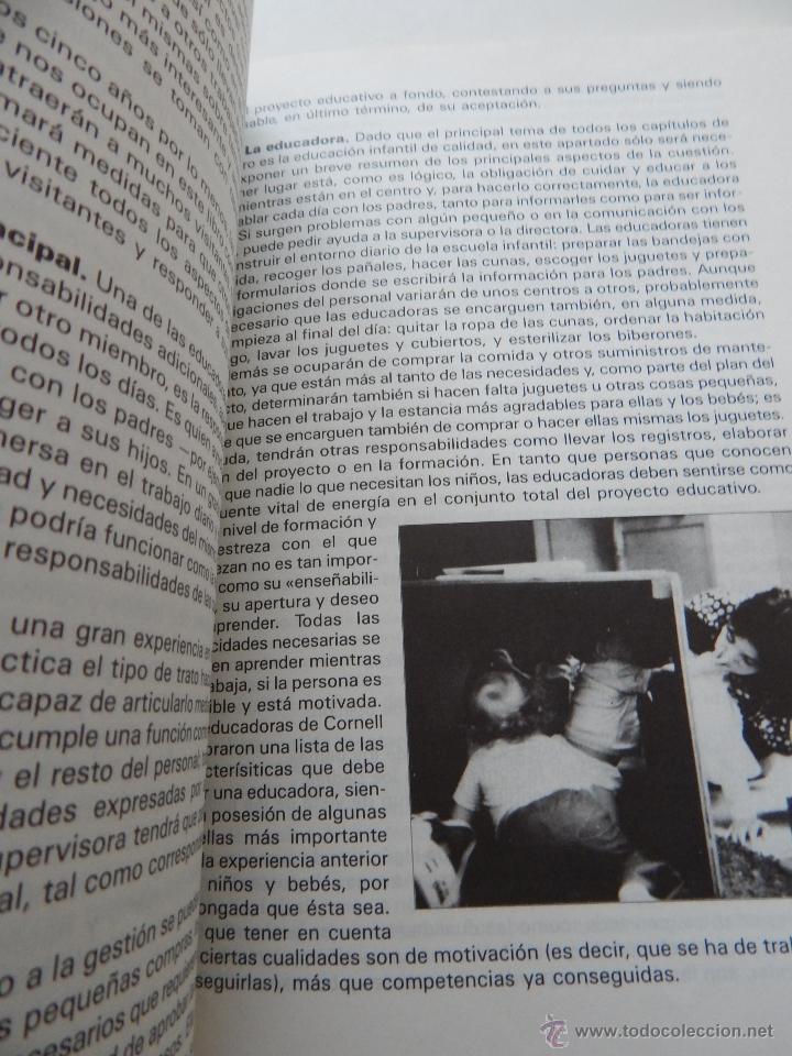 Libros de segunda mano: Orientaciones para la escuela infantil de cero a dos años - Anne Willis, Henry Ricciuti, 1990 - Foto 9 - 53009621