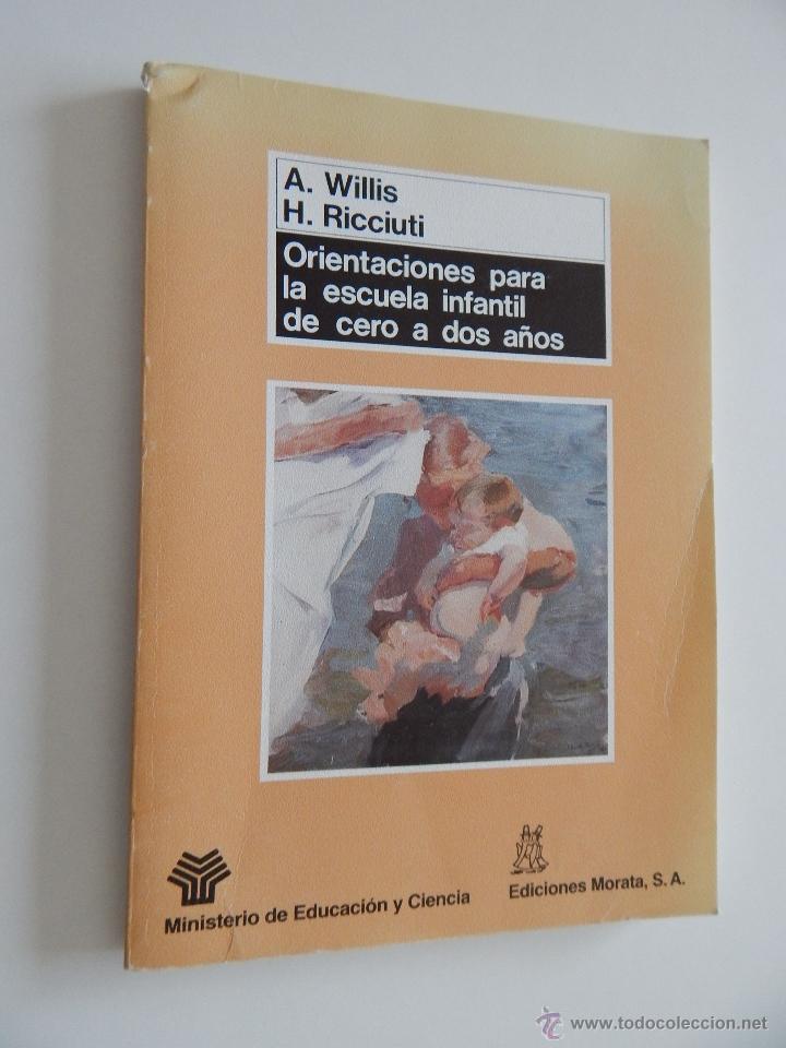 ORIENTACIONES PARA LA ESCUELA INFANTIL DE CERO A DOS AÑOS - ANNE WILLIS, HENRY RICCIUTI, 1990 (Libros de Segunda Mano - Ciencias, Manuales y Oficios - Pedagogía)
