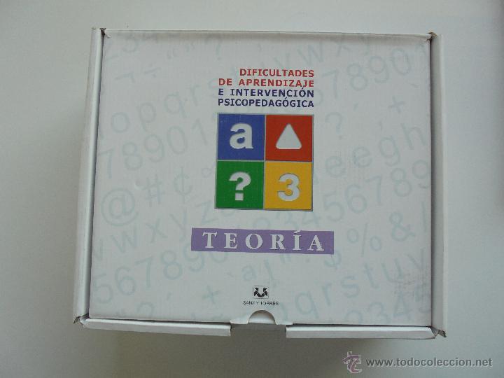 Libros de segunda mano: DIFICULTADES DE APRENDIZAJE E INTERVENCION PSICOPEDAGOGICA. TEORIA, PRACTICAS Y GUIA DIDACTICA. - Foto 11 - 53174855