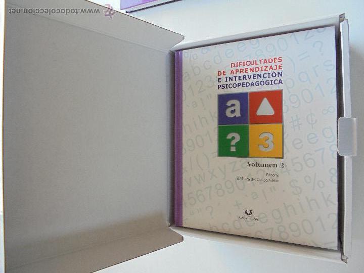 Libros de segunda mano: DIFICULTADES DE APRENDIZAJE E INTERVENCION PSICOPEDAGOGICA. TEORIA, PRACTICAS Y GUIA DIDACTICA. - Foto 12 - 53174855