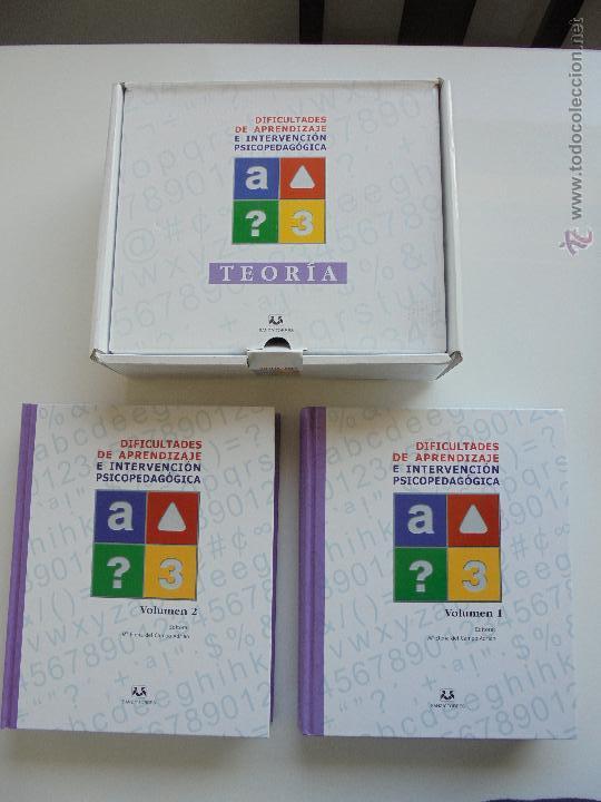 Libros de segunda mano: DIFICULTADES DE APRENDIZAJE E INTERVENCION PSICOPEDAGOGICA. TEORIA, PRACTICAS Y GUIA DIDACTICA. - Foto 13 - 53174855