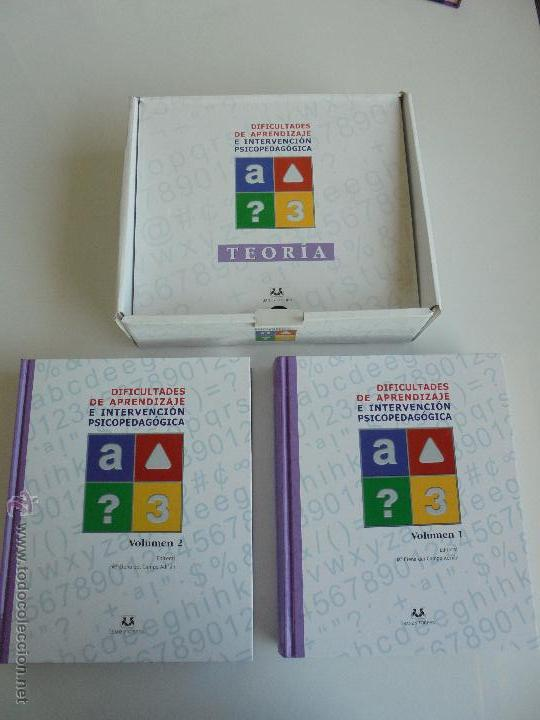 Libros de segunda mano: DIFICULTADES DE APRENDIZAJE E INTERVENCION PSICOPEDAGOGICA. TEORIA, PRACTICAS Y GUIA DIDACTICA. - Foto 14 - 53174855