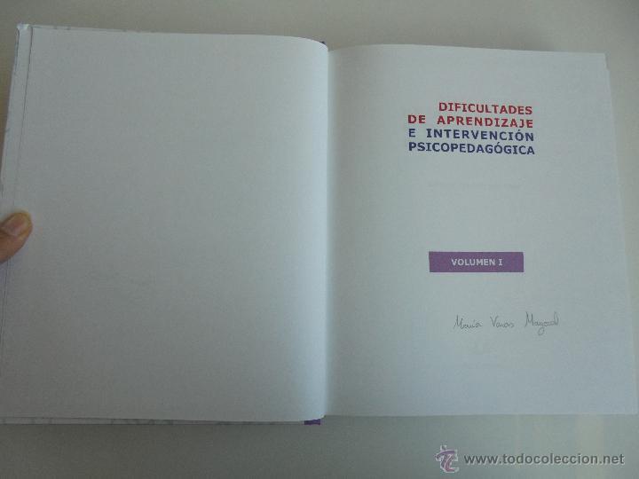Libros de segunda mano: DIFICULTADES DE APRENDIZAJE E INTERVENCION PSICOPEDAGOGICA. TEORIA, PRACTICAS Y GUIA DIDACTICA. - Foto 16 - 53174855