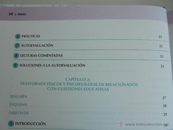 Libros de segunda mano: DIFICULTADES DE APRENDIZAJE E INTERVENCION PSICOPEDAGOGICA. TEORIA, PRACTICAS Y GUIA DIDACTICA. - Foto 20 - 53174855