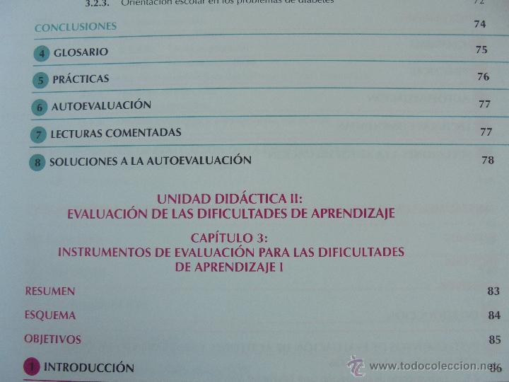 Libros de segunda mano: DIFICULTADES DE APRENDIZAJE E INTERVENCION PSICOPEDAGOGICA. TEORIA, PRACTICAS Y GUIA DIDACTICA. - Foto 23 - 53174855