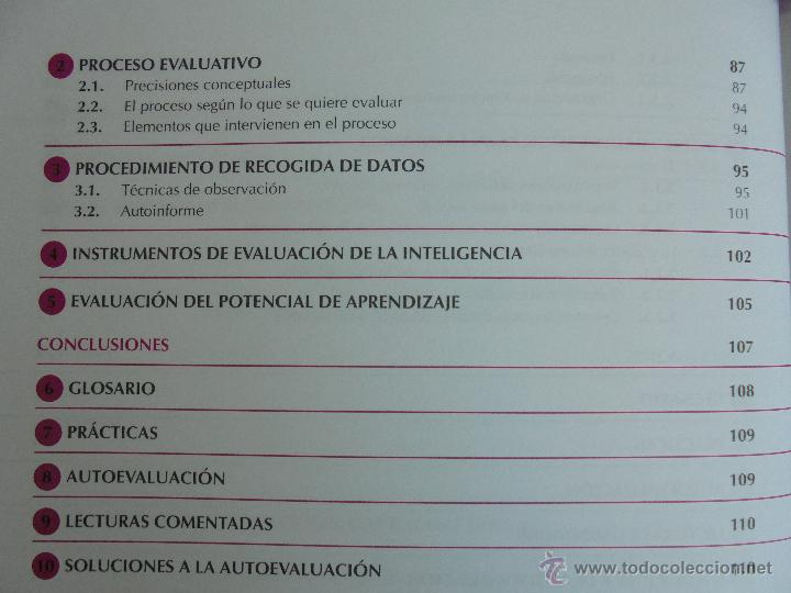 Libros de segunda mano: DIFICULTADES DE APRENDIZAJE E INTERVENCION PSICOPEDAGOGICA. TEORIA, PRACTICAS Y GUIA DIDACTICA. - Foto 24 - 53174855