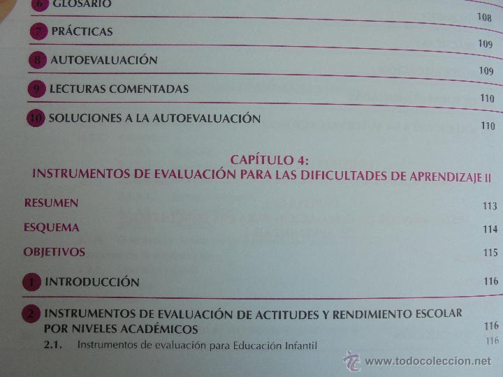 Libros de segunda mano: DIFICULTADES DE APRENDIZAJE E INTERVENCION PSICOPEDAGOGICA. TEORIA, PRACTICAS Y GUIA DIDACTICA. - Foto 25 - 53174855
