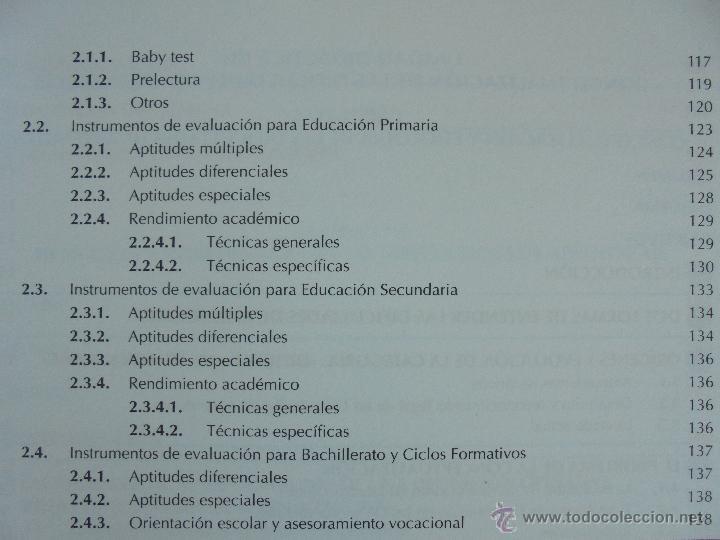 Libros de segunda mano: DIFICULTADES DE APRENDIZAJE E INTERVENCION PSICOPEDAGOGICA. TEORIA, PRACTICAS Y GUIA DIDACTICA. - Foto 26 - 53174855