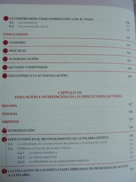 Libros de segunda mano: DIFICULTADES DE APRENDIZAJE E INTERVENCION PSICOPEDAGOGICA. TEORIA, PRACTICAS Y GUIA DIDACTICA. - Foto 37 - 53174855