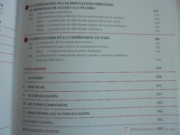 Libros de segunda mano: DIFICULTADES DE APRENDIZAJE E INTERVENCION PSICOPEDAGOGICA. TEORIA, PRACTICAS Y GUIA DIDACTICA. - Foto 38 - 53174855