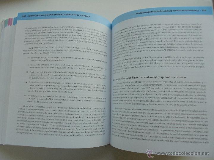 Libros de segunda mano: DIFICULTADES DE APRENDIZAJE E INTERVENCION PSICOPEDAGOGICA. TEORIA, PRACTICAS Y GUIA DIDACTICA. - Foto 40 - 53174855