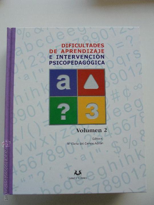 Libros de segunda mano: DIFICULTADES DE APRENDIZAJE E INTERVENCION PSICOPEDAGOGICA. TEORIA, PRACTICAS Y GUIA DIDACTICA. - Foto 42 - 53174855